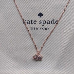 9624c4ef58de2 Kate Spade Things we love pave elephant pendant NWT